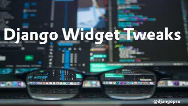 Imagem Django Widget Tweaks